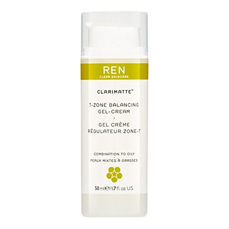 レディティッシュほんのRen Clarimatte Tゾーンバランシングジェルクリーム、50ミリリットル (REN) - REN Clarimatte T-Zone Balancing Gel Cream, 50ml [並行輸入品]