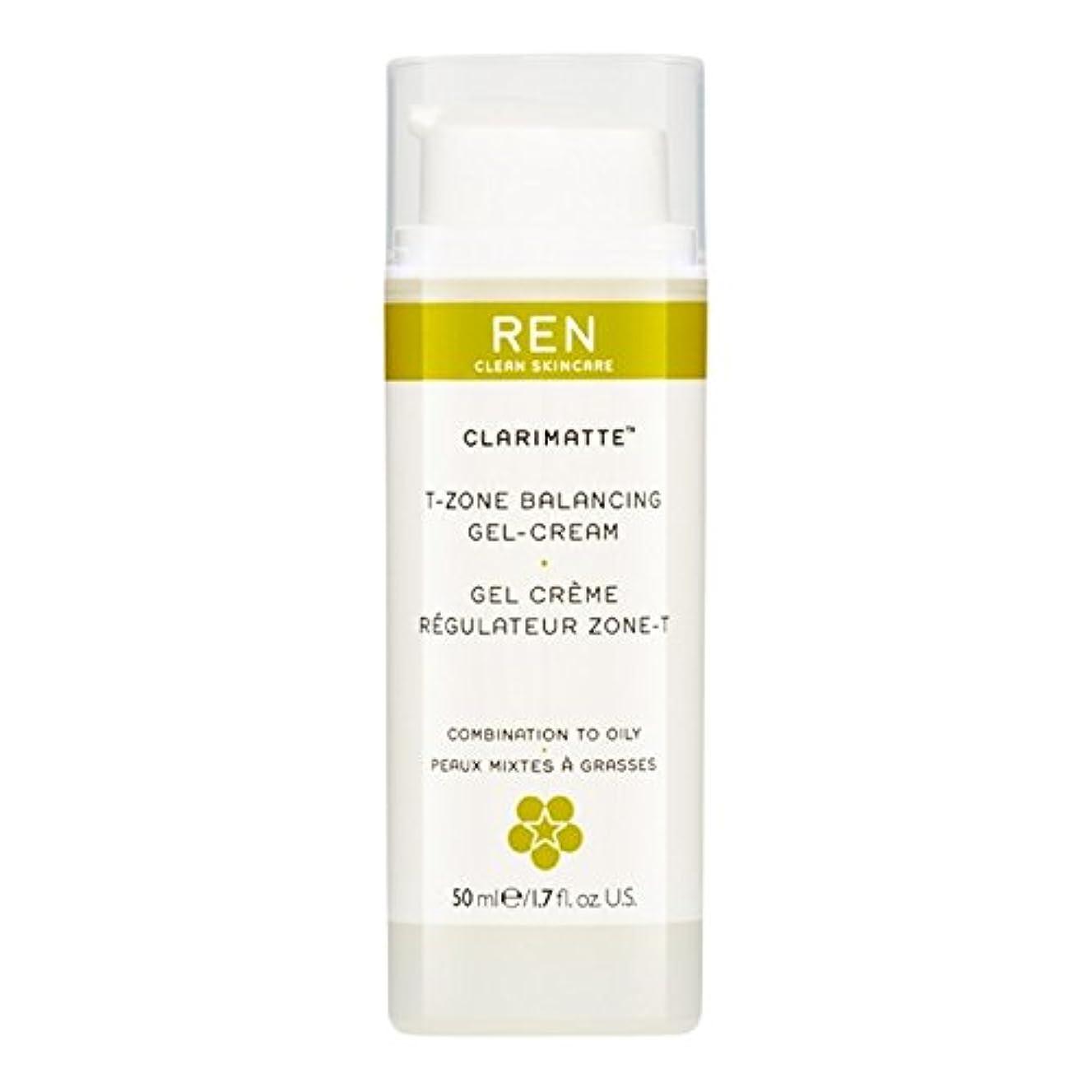 長々と小さい告発者Ren Clarimatte Tゾーンバランシングジェルクリーム、50ミリリットル (REN) - REN Clarimatte T-Zone Balancing Gel Cream, 50ml [並行輸入品]