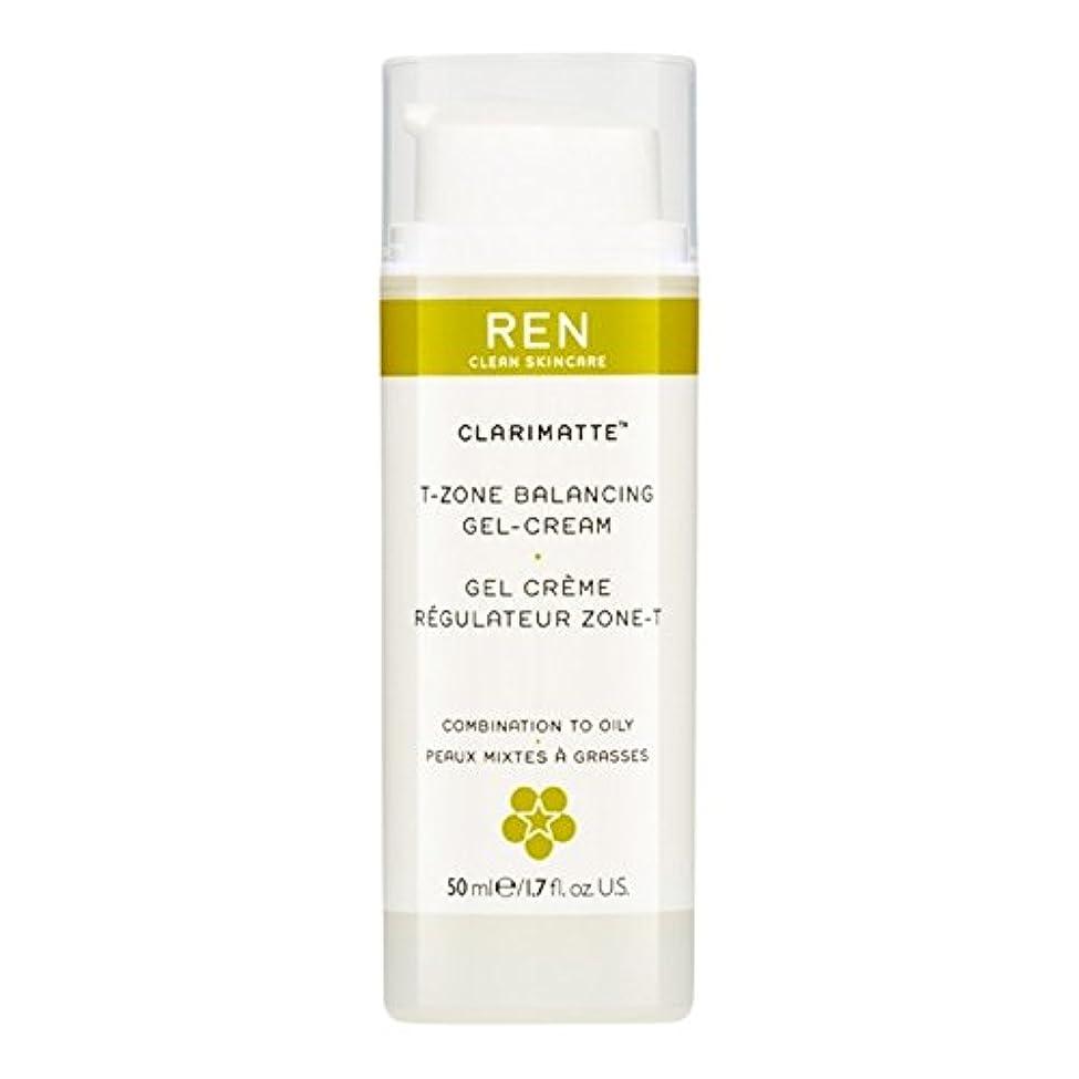 Ren Clarimatte Tゾーンバランシングジェルクリーム、50ミリリットル (REN) - REN Clarimatte T-Zone Balancing Gel Cream, 50ml [並行輸入品]