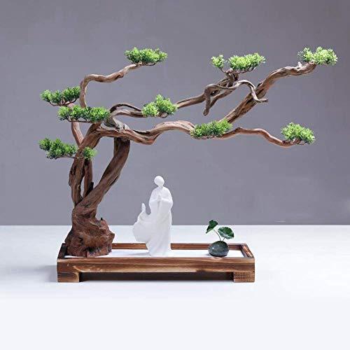 Meditación Jardín Zen,Meditación Jardín Zen Jardín Zen Montaña Seca Agua Paisajismo Arena Fina Arte de meditación Zen japonés Adorno de Escritorio Mesa de Arena Micro Paisaje Feng Shui Yoga