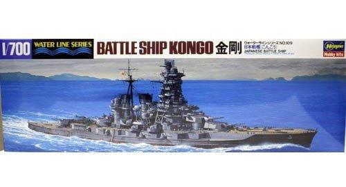 ハセガワ 1/700 ウォーターラインシリーズ 金剛 戦艦 #109