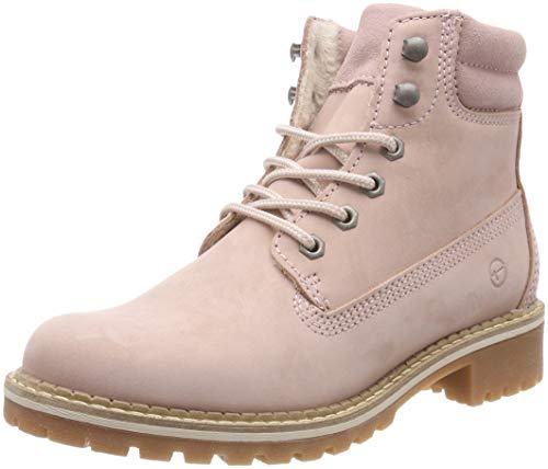 Tamaris Damen 25242-21 Combat Boots, Pink (Lt.Pink 644), 40 EU