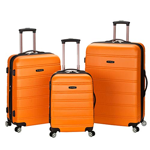 Our #6 Pick is the Rockland Melbourne Hardside Expandable 3-Piece Luggage Set