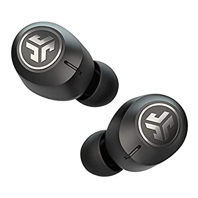 JLab Audio JBuds Air ANC True Wireless Earbuds, Bluetooth Wireless Headphones and USB Charging Case with Active Noise Cancelling, IP55 Sweat Resistance and Signature 3 EQ Sound by JLab Audio
