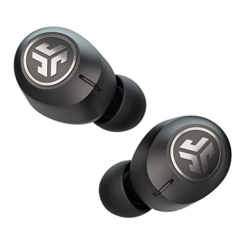 JLab JBuds Air ANC True Wireless Bluetooth Earbuds | Black | Active Noise Canceling | Low Latency Movie Mode | Dual Connect | IP55 Sweat Resistance | Custom 3 EQ Sound Settings