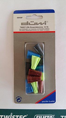 REV Dosenklemme Twist On max.6 mm² 12 Stück Düwi