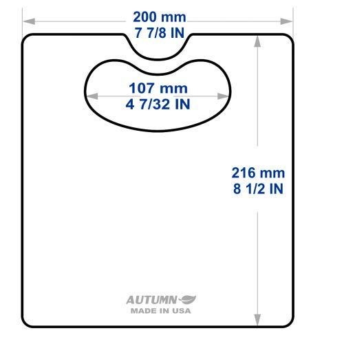 Slit Lamp Breath Shield (PETG (Thin Shield), Universal Large 1), Pack of 2