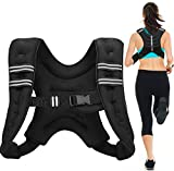 Strength Training Weight Vests Neoprene 18LB Gym Sport Fitness Equipment Walking Running Adjustable...