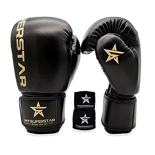 MYSUPERSTAR Boxing-Boxhandschuhe für...