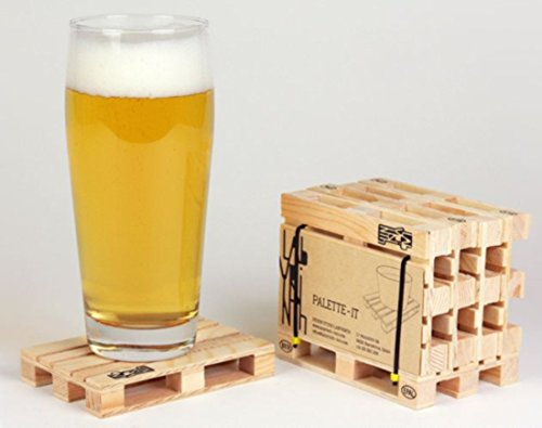 Wooden Pallet Styled Coasters