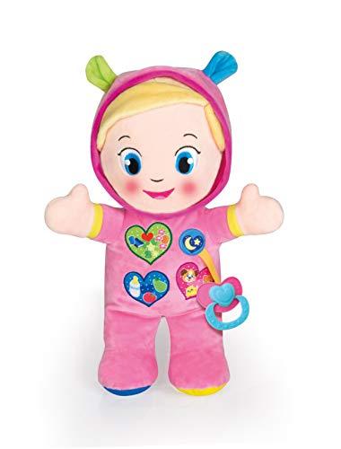 Clementoni- Baby 17201-Alice la Mia Prima Bambola, Colori Assortiti, 17201, 10 mesi +