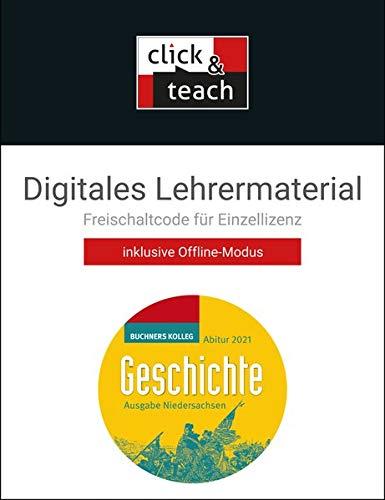 Buchners Kolleg Geschichte – Neue Ausgabe Niedersachsen / Kolleg Geschichte NI Abitur 2021 click & teach Box: Digitales Lehrermaterial (Karte mit Freischaltcode)
