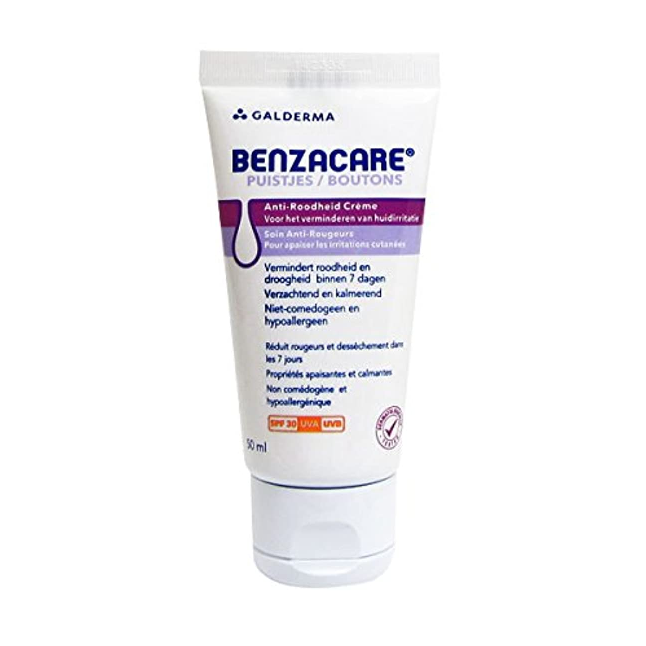 アンカー離すサージBenzacare Day Moisturizing Cream Spf30 50ml [並行輸入品]