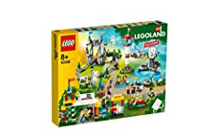 FUN - Build the your very own LEGOLAND park replica right in your own home with this 1336 piece kit! INCREDIBLE DETAIL - Includes 10 minifigures: 2 LEGOLAND employees, Guy in wheelchair, 2 boy kids, 2 girl kids, dad, mom, woman with baby VERSATILITY ...