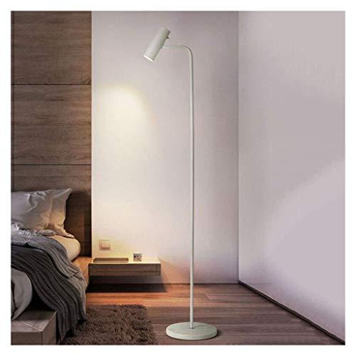 WEM Lámparas novedosas, interruptor de pie LED blanco/interruptor de control remoto, sala de estar, dormitorio, lámpara de mesa vertical, decoración de iluminación de hotel en casa,Luz de tres tono