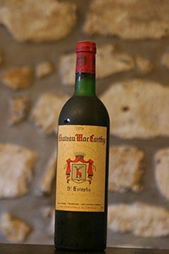St Estèphe,rouge,Chateau Mac Carthy 1978