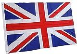 rhungift Union Jack, britische Flagge 150x90cm, Premium Qualität Oxford Nylon 210D, Vereinigtes KÖNIGREICH BRITISCHE Fahne