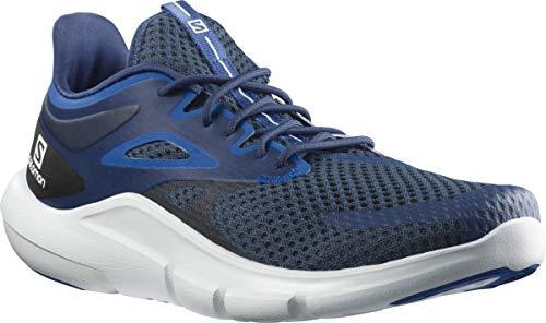 SALOMON Predict Mod, Zapatillas de Running Hombre, Dark Denim/White/Turkish Sea, 40 EU