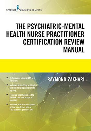 41TC8ryS49L - The Psychiatric-Mental Health Nurse Practitioner Certification Review Manual