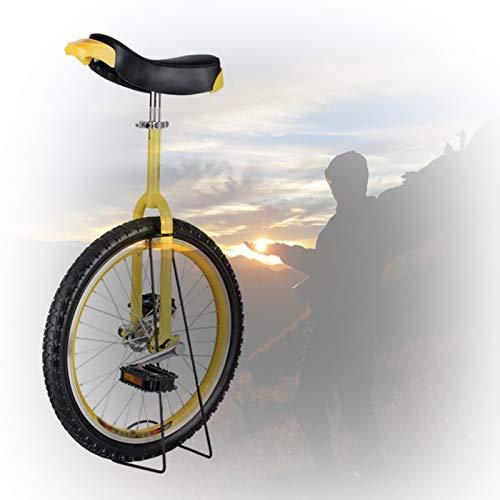 GAOYUY Monociclo para Niños, Marco De 16/18/20/24 Pulgadas Ejercicio De Ciclismo De Equilibrio De Neumáticos De Montaña De Butilo Antideslizante Deportes De Ciclismo Al Aire Libre Fácil De Montar