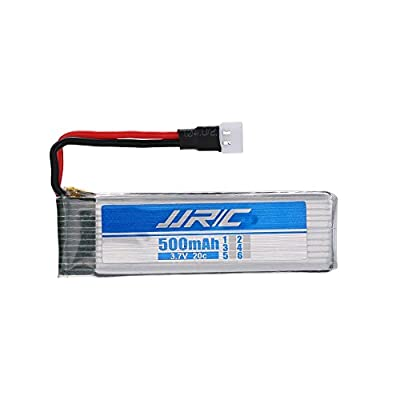 YUNIQUE UK ® 1 Piece 3.7V 500mAh batteries for JJRC H37 Drone RC Quadcopter spare parts