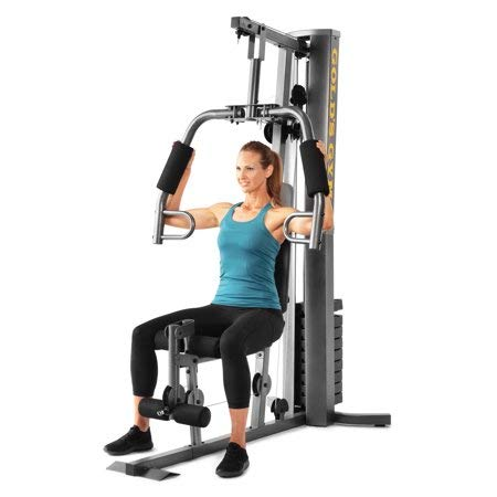 Kinelo Gold's Gym XRS 50 Home Gym with High and Low Pulley System