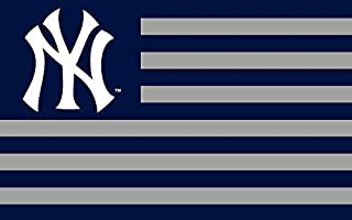Nine Culture Championship Flag - Fan Team Banners Sewn 3x5 Foot World Series Champions Outdoor Banner (New York Yankees)