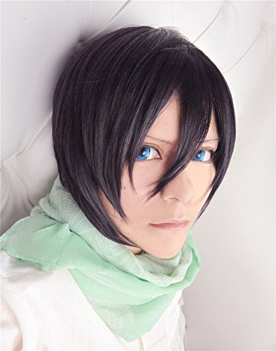 LanTing Cosplay Perücke Noragami Yato Yaboku Purple Mix Perücke Corta Frauen Cosplay Party Fashion Anime Human Costume Full wigs Synthetic Haar Heat Resistant Fiber