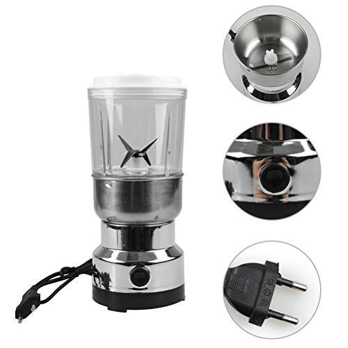 Weesey Elektrische koffiemolen, 100 watt, elektrische koffiemolen, molen voor huis en kantoor, molen voor koffiebonen, specerijen, zaden, noten, kruiden, peper