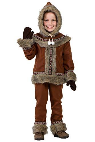 Kimokawaii Disfraz Esquimal Niño 10-12 años