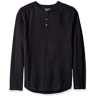 Men's Slim-Fit Long-Sleeve Henley Shirt