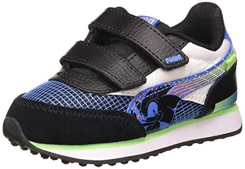 PUMA Unisex Itsy-bitsy one SEGA Future Rider V Inf Sneaker, Palace Blue Dusky, 22 EU thumbnail