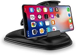 حامل الهاتف للسيارة، حامل الهاتف في السيارة بحصيرة متينة من السيليكون، حامل الهاتف على منصة القيادة متوافق مع ايفون 11 برو...