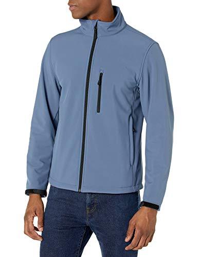 Amazon Essentials Big & Tall Water-Resistant Softshell Fit by DXL Athletic-Shell-Jackets, Indigoblau, XXL