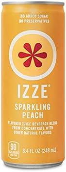 24-Pack IZZE Sparkling Juice 8.4 Fl Oz