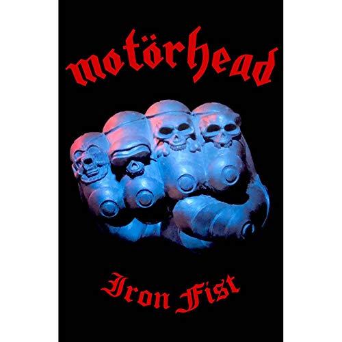 MOTORHEAD IRON FIST Flagge/ Flag