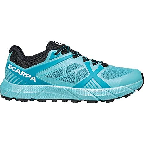 Scarpa SPIN 2.0 WMN, Zapatillas de Trail Running Mujer, Atoll-Black ARSW FIXION 2, 38 EU