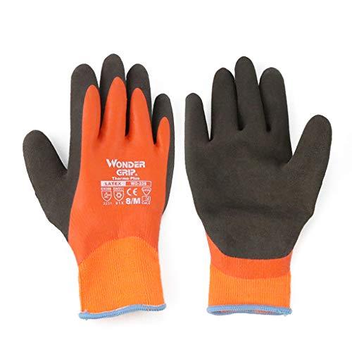 YJWOZ Kalt- und Frostschutzhandschuhe, Wasserdichte, Rutschfeste, warme, kalte Tiefkühlhandschuhe für die Gefriermaschine, EIN Paar vollhängender Kleber Handschuh