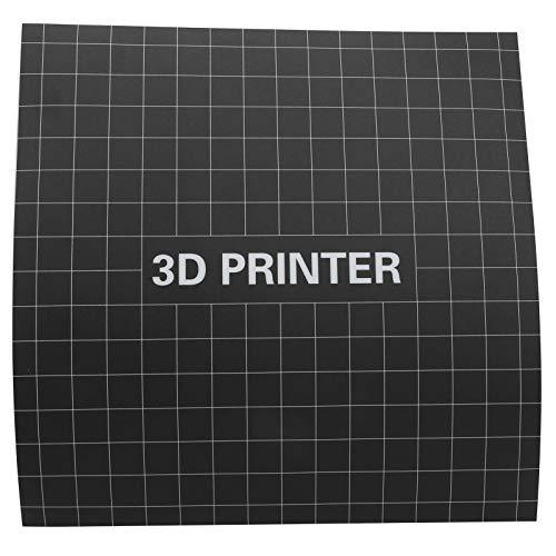 3D Printing Platform Matte Sticker Printing Platform Matte Stickers 15.7 x 15.7in Heat Bed Sticker No Pungent Odor 3D Printer Accessories for 3D Printer