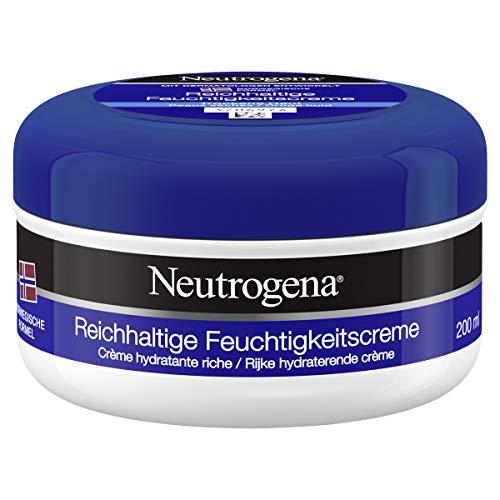 Neutrogena Norwegische Formel Reichhaltige Feuchtigkeitscreme, intensive Hautpflege Creme bei trockener Haut (1 x 200 ml)