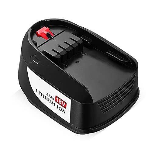 OMBAR 3.5Ah 18V Batería de Litio de Repuesto para Bosch PBA 1600A005B0 Compatible con Todas Las Herramientas Eléctricas Bosch de 18V de Hogar y de Jardín