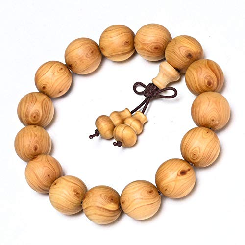 Hao Ting Taihang Cliff Cypress Chenhua 2.0 Pulsera Budista Beads Material antiguo Playing Evil Eyes Hombres Wooden Cypress Cliff