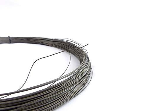 fuxus® Nitinol Draht 10 Meter Formgedächtnis Legierung Shape Memory Alloy Muscle Wire (0.3mm)