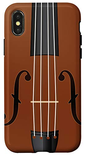 iPhone X/XS Violin String Classical Violinist Cool Music Lover Gift Case