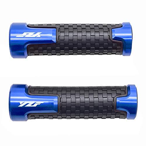 22mm 7/8'' Motorrad Lenkergriffe Griff Griffgummis Für Yamaha YZF R1 R3 R6 R6S R25 R125 600R Blau