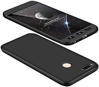 Xiaomi Mi A1 /Mi5X Case,Fashion ultra Slim Gkk 360 Full Protection Cover Case - Black