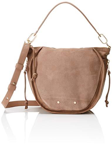 Liebeskind Berlin dames Saddy Suede Crossbody Small Handbag, 13x22x33 cm