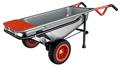 WORX WG050 Aerocart Multifunktions-Schubkarre – 8-in-1 Funktion: Sackkarre mit Vollgummireifen, Gartenkarre, Tragehilfe, Müllbeutelhalter uvm.