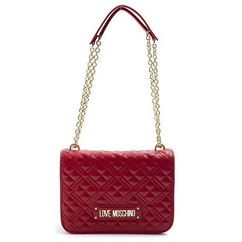 Love Moschino - Bolso bandolera rojo acolchado - JC4000PP1A LA0500 - Talla