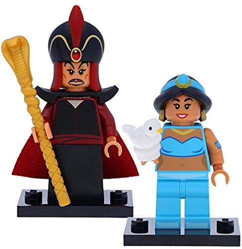 LEGO 71024 Disney Serie 2 Minifiguren: Dschafar / Jafar #11 und Jasmin / Jasmine #12 (Aladdin)